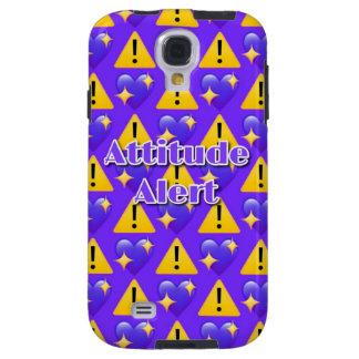 Kasten Haltungs-wachsamer (lila) Galaxy S4 Hülle