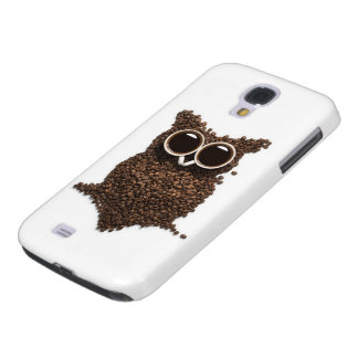 Kasten Kaffee-Eulen-Samsung-Galaxie-S4 Galaxy S4 Hülle