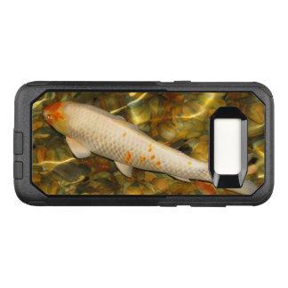 Kasten Koi orange weiße Fische OtterBox Galaxie-S8 OtterBox Commuter Samsung Galaxy S8 Hülle