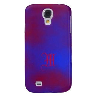 Kasten Monogramm-lila Entwurfs-Samsungs-Galaxie S4 Galaxy S4 Hülle