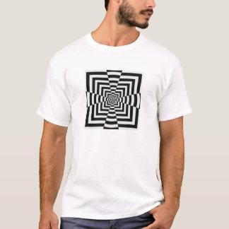 Kasten-Querillusion - klassischer T - Shirt