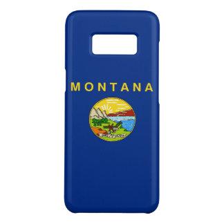 Kasten Samsung-Galaxie-S8 mit Montana-Flagge Case-Mate Samsung Galaxy S8 Hülle