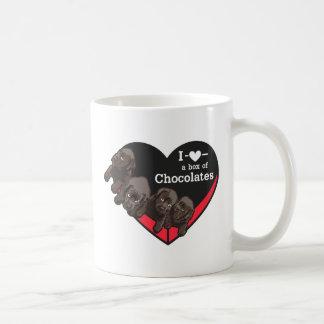Kasten Schokoladen Kaffeetasse