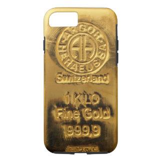 Kasten Telefons 5 der 1 Kilogramm-Feingoldschweiz iPhone 8/7 Hülle