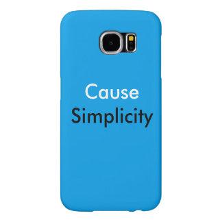 Kasten Ursachen-Einfachheits-Samsung-Galaxie-S6