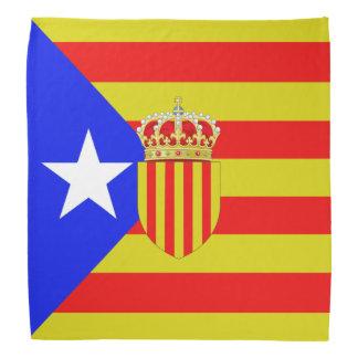 Katalonien-Flagge Kopftuch