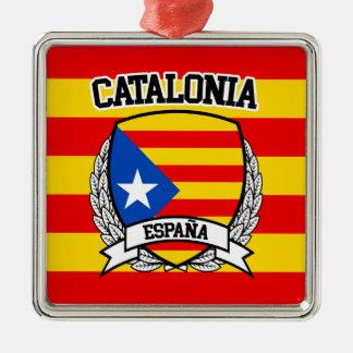 Katalonien Silbernes Ornament