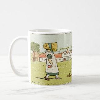 Kate Greenaway Bilder Kaffeetasse