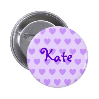 Kate in Lila Runder Button 5,7 Cm