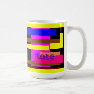 Kate klassische Kaffee-Tasse in farbenreichem Tasse