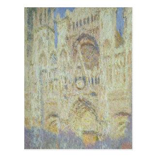 Kathedrale Claude Monets | Rouen an Postkarte