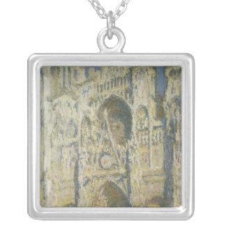 Kathedrale Claude Monets | Rouen im vollen Versilberte Kette