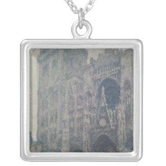 Kathedrale Claude Monets | Rouen, nach Westen Versilberte Kette