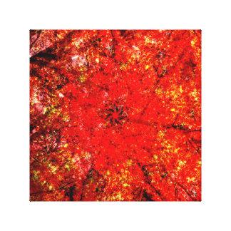 Kathedrale des Herbstes Leinwanddruck