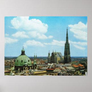 Kathedrale Österreichs Wien St Stephen Poster