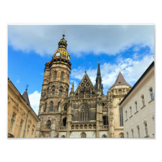 Kathedrale St. Elisabeth in Kosice, Slowakei Kunstfoto