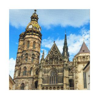 Kathedrale St. Elisabeth in Kosice, Slowakei Leinwanddruck