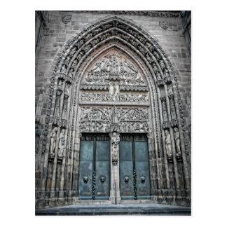 Kathedrale St. Lorenz - Postkarte Nürnbergs,