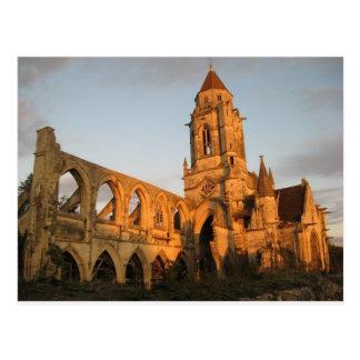 Kathedralen-Ruinen Postkarte