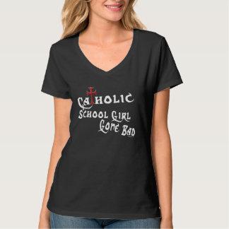 Katholische Schulmädchen (dunkel) T-Shirt