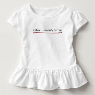 Katholisches Ableistung- von Kleinkind T-shirt