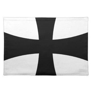 katholisches Kreuz Tischset