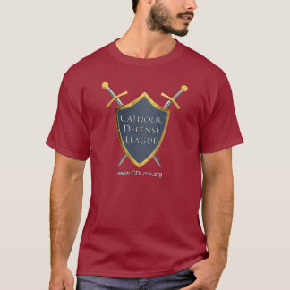 Katholisches Verteidigungs-Liga-Shirt T-Shirt