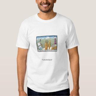 Katmandu u. das lustige T-Stück der Dogmandu Shirts