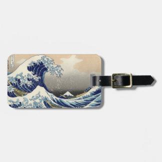 KATSUSHIKA HOKUSAI - Die große Welle weg von Kofferanhänger