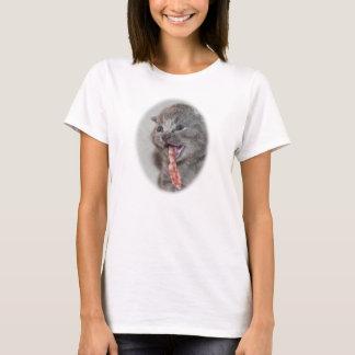 Kätzchen mit der Speck-Zunge T-Shirt
