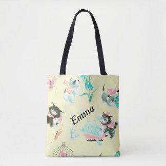 Kätzchen-Taschen-Rückseite Tasche