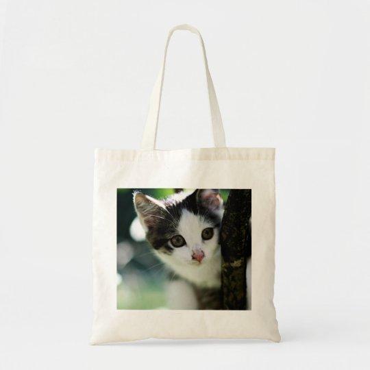 Kätzchen-Taschen-Tasche Budget Stoffbeutel