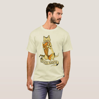 Katze Carpe Carpio! T-Shirt