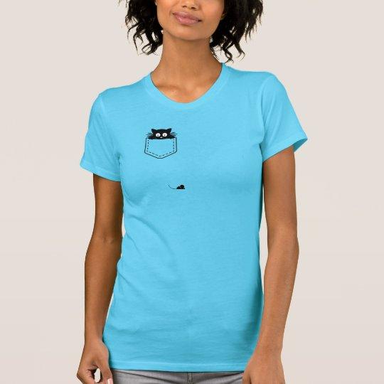 Katze der Tasche T-Shirt