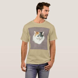 Katze Gato Kiesel-Traurigkeitwatercolor-seltener T T-Shirt