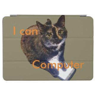 Katze kann Computer iPad Pro Hülle