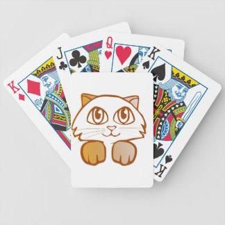 Katze Pokerkarten
