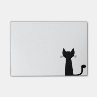 Katze Post-it Klebezettel