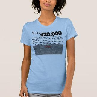 Katze spay sächlichen T - Shirt