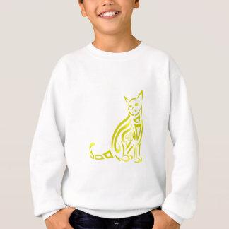 Katze Stammes- Sweatshirt