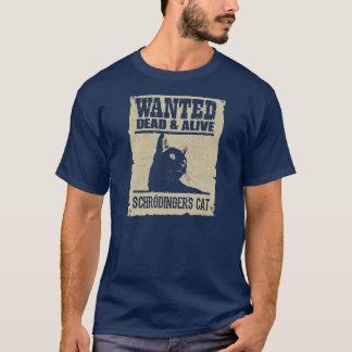Katze von Sucht Schrodinger und Tote Munter T-Shirt