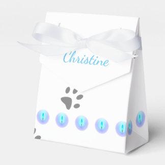 Katzen-Abdrücke Geschenkschachtel