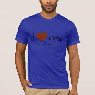 Katzen der Liebe I. Mittleres seltenes T-Shirt