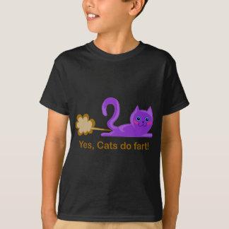 Katzen-Furz - farting Katze T-Shirt