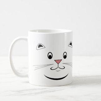 Katzen-Gesichts-Tasse Kaffeetasse
