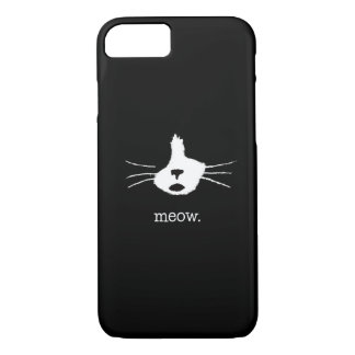 Katzen-Gesichts-Telefon-Kasten iPhone 8/7 Hülle