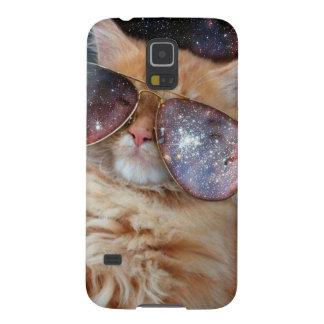 Katzen-Gläser - Sonnenbrillekatze - Katzenraum Samsung S5 Hüllen