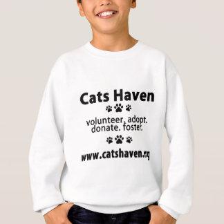 Katzen-Hafen informierend Sweatshirt