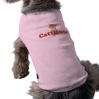 Katzen-Haltung Ärmelfreies Hunde-Shirt