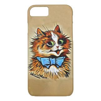 Katzen-Handy-Fall Louis Wain iPhone 8/7 Hülle